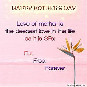 Happy Mothers Day Quotes From Son. QuotesGram