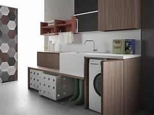 Ikea Möbel Für Hauswirtschaftsraum : dunkle schr nke in kombination mit wei em sp lbecken f r den hauswirtschaftsraum house ~ Markanthonyermac.com Haus und Dekorationen
