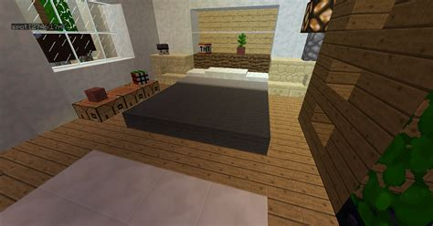 modern bedroom minecraft myideasbedroom
