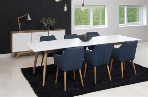 table 224 manger avec rallonge blanc laqu 233 marzo mobilier priv 233