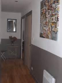 peinture mur horizontale avec moulure collection avec idee