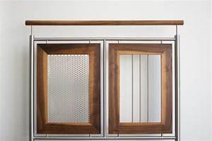 Einzelbett Metall Weiß : gel nder mit holzeinlagen weiss metall ~ Markanthonyermac.com Haus und Dekorationen