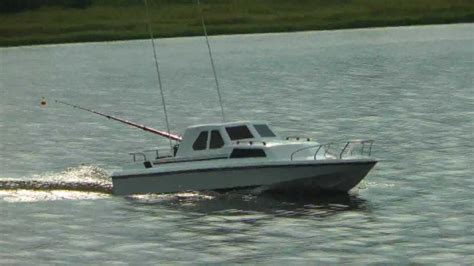 Rc Control Fishing Boat by My Rc Fishing Boats Mpg Youtube