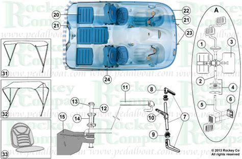 Pelican Paddle Boat Drain Plug by Pelican Pedal Boat Wiring Diagram Repair Wiring Scheme
