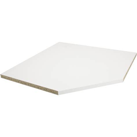 plan de travail d angle stratifi 233 blanc mat 105 x 105 cm 233 p 38 mm leroy merlin