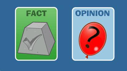 Level 2 Fact Versus Opinion Katyakitch