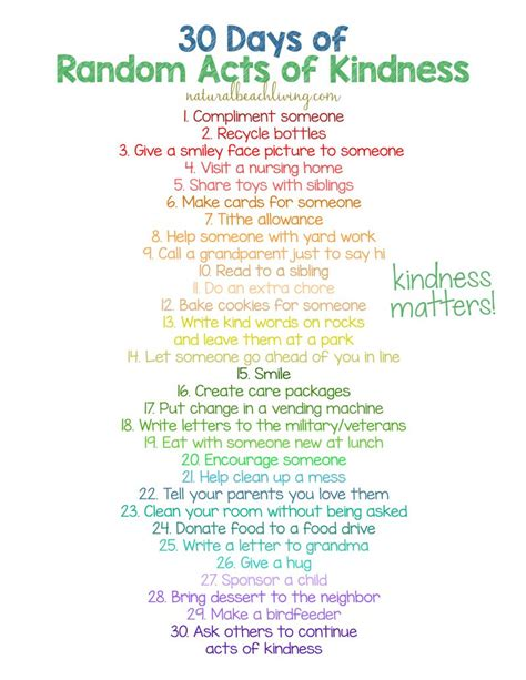 30 Days Of Random Acts Of Kindness Ideas For Kids. Hand Signal Fiba Signs. Tia Signs Of Stroke. Retail Signs. Generic Signs. Fire Safety Signs Of Stroke. License Test Signs. Major Road Signs. Streptozotocin Stz Signs