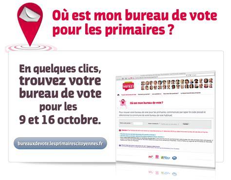 mode d emploi des primaires trouver bureau de vote pr 233 sidentielle 2012 articles
