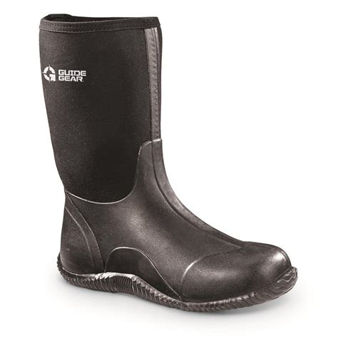 Rubber Boot Pics by Guide Gear Women S Mid Bogger Rubber Boots 648773