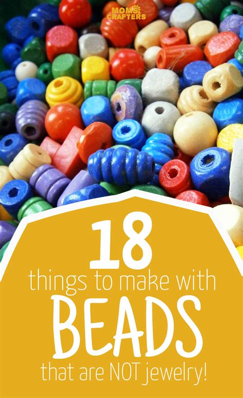 18 Things To Make With Beads (that Aren't Jewelry) Moms