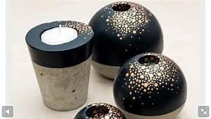Feiner Beton Zum Basteln : pin von ronit lebovich auf diy concrete pinterest keramik malerei sch ne deko und garten deko ~ Markanthonyermac.com Haus und Dekorationen