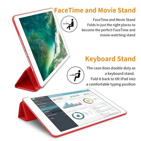 Ipad Smart Cover Review 2017 by Ipad 2017 Smart Cover Case Rood