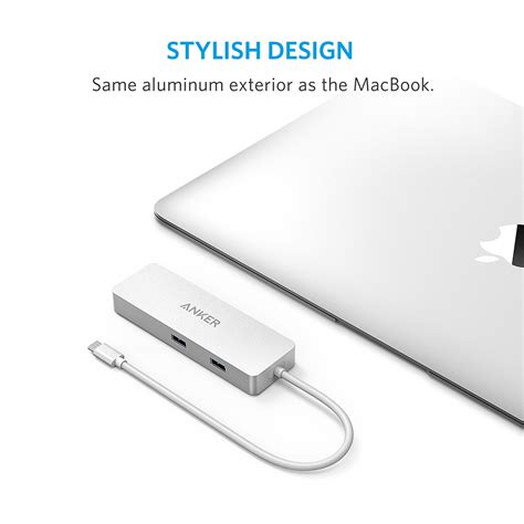 Anker Usb C Hub by Anker Premium Usb C Hub With Ethernet And Power Delivery