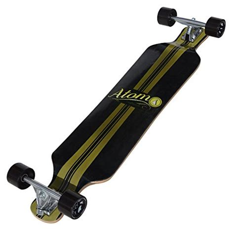 atom drop deck longboard 39 inch new