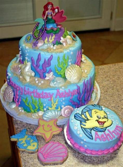 ariel birthday cake mermaid cake cooking ideas pastries