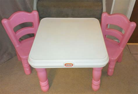 tikes tender hearts table 2 pink