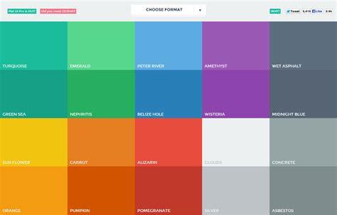 Fresh Colours Palette For Modern Designers Mkelscom