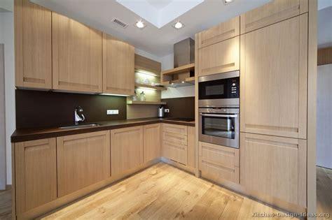 Modern Wood Kitchen Cabinets  Modern Kitchen Designs