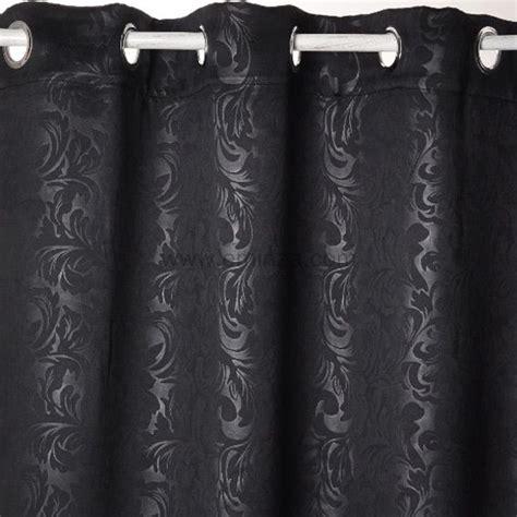 rideaux baroque noir