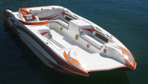 Older Model Deck Boats by Ny Nc Best Catamaran Power Boat Manufacturers