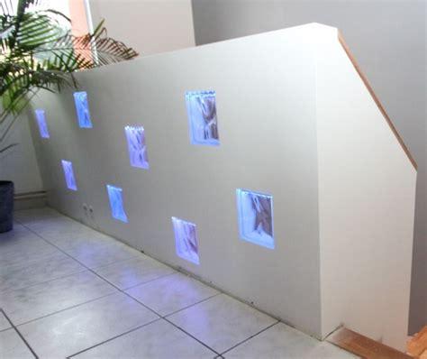 garde corps avec briques de verre 233 clair 233 es bosch luminaires diy violettes