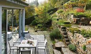Gartengestaltung Böschung Gestalten : pin von alina auf garten pinterest trockenmauer naturnaher garten und privatgarten ~ Markanthonyermac.com Haus und Dekorationen