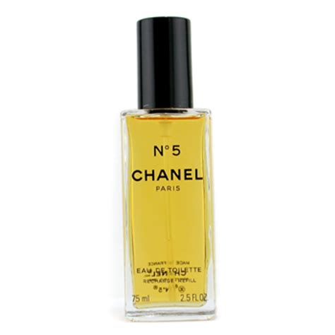 ifragrances chanel no 5 eau de toilette spray refill 75ml 2 5oz