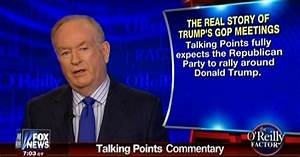 "Bill O'Reilly: ""Talking Points Fully Expects The ..."