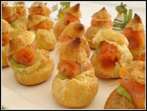 recette de mini choux farcis 224 l avocat et saumon fum 233 224 l