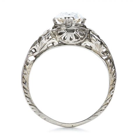 estate deco engagement ring 100905