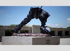 Messi statue 'decapitated' in Argentina AScom