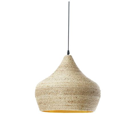 suspension ethnique en chanvre tress 233 d 40 cm ghabou maisons du monde