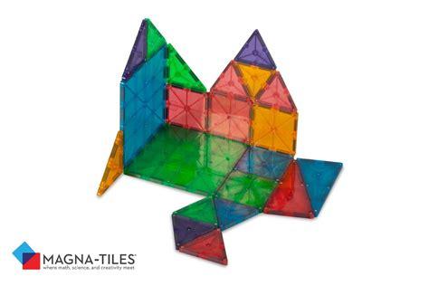 magna tiles clear 32 pcs building sets by magna tiles