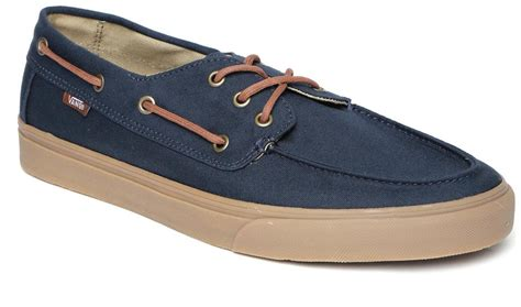 Vans Boat Shoes Price by Vans Chauffeur Blue Boat Shoes For Men Online In India At