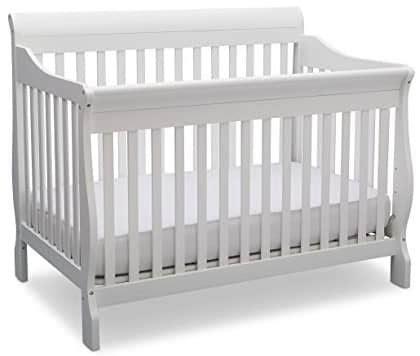 delta crib delta children providence 4in1 convertible crib gray daybed rail delta bentley