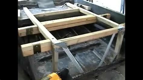 new diy boat free how to build a deck on your jon boat