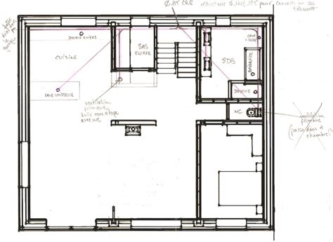 plan plomberie maison 233 vacuation eaux vannes et eaux us 233 es construction maison neuve