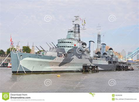 Boat Prices From Belfast To England by Hms Belfast In London Royalty Free Stock Photos Image
