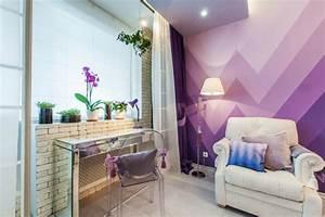 Effekt Farbe Streichen : wandgestaltung wohnzimmer mutige und moderne wahl ~ Markanthonyermac.com Haus und Dekorationen