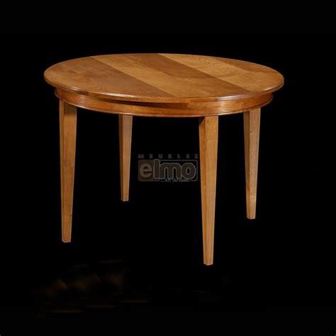 table de salle 224 manger extensible ronde merisier massif