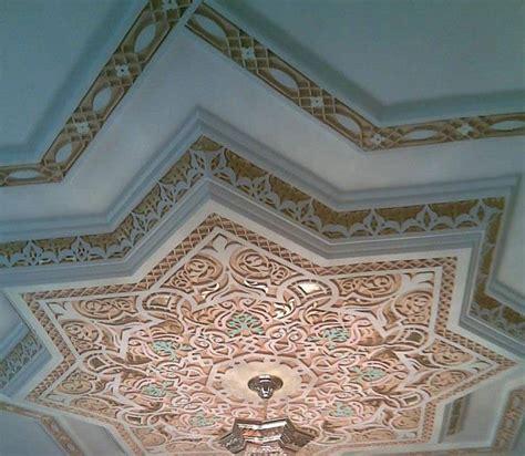 faux plafond en platre sculpt 233 style marocain