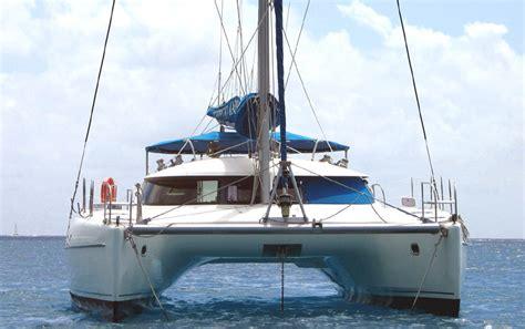 Catamaran A Vendre Republique Dominicaine by Achat Vente Catamarans Occasion Bahia 46 Fountaine