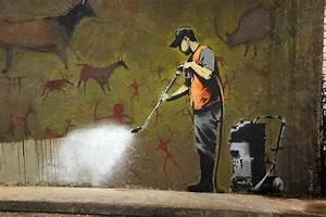 The Street Work of Banksy: British Graffiti Artist | Make ...