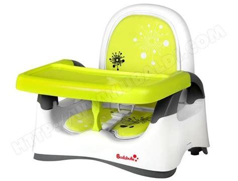 rehausseur de chaise badabulle r 233 hausseur confort vert b009001 pas cher ubaldi