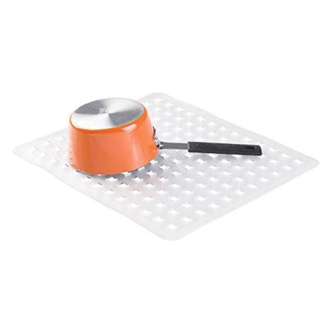 interdesign kitchen sink protector mat regular clear new ebay