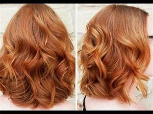 Great Ideas for Copper Hair Color - YouTube