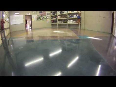 How To Stain & Polish Concrete Floors Youtube
