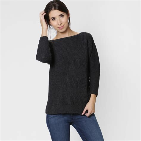 Boat Neck Long Sweater by Six Ten Cotton Boatneck Sweater