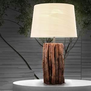 Bilder Lampen Mit Batterie : nachttischlampe holz tischlampe tischleuchte nachttischleuchte beleuchtung kenia ebay ~ Markanthonyermac.com Haus und Dekorationen