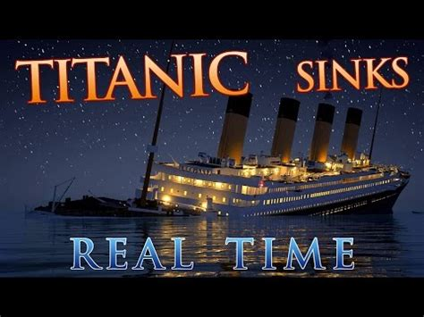 nag on the lake real time of the titanic sinking